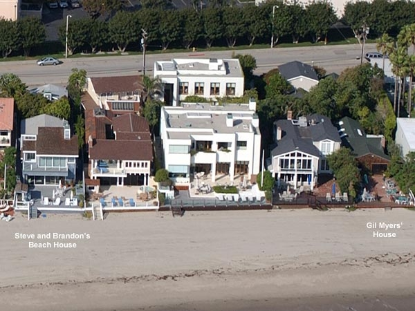 Steve And Brandon S Malibu Beach House 90210 Locations Beverly Hills 90210 90210 And